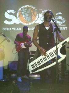 Casey Benjamin on Keytar Vocoder with Derrick Hodge holding it down on bass in the background: Robert Glasper Experiment