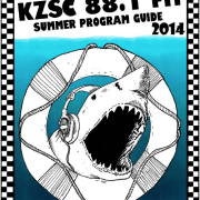 KZSC 2014 Summer Program Guide Cover