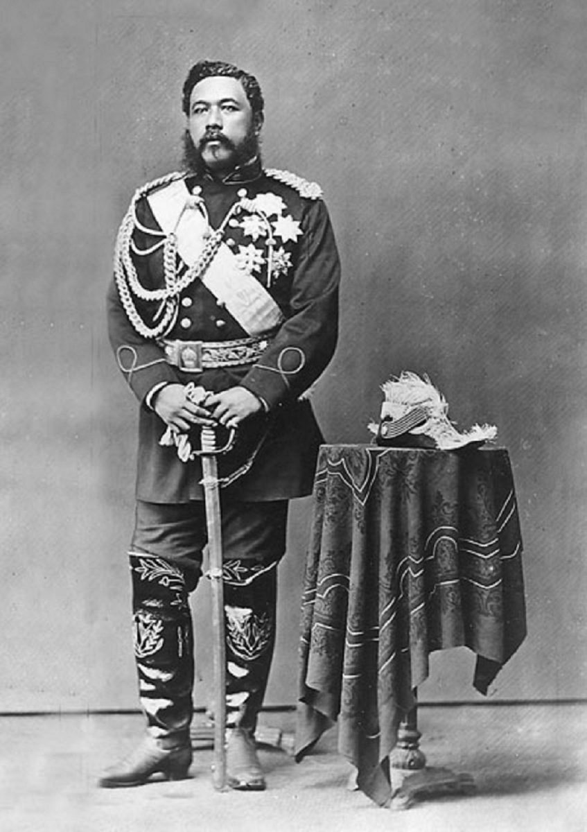 King David Kalakaua of Hawaii governed from 1874 - 1891.