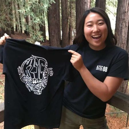 KZSC's 50th Anniversary Tiger Tee!