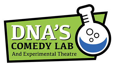 dnas comedy lab full color logo