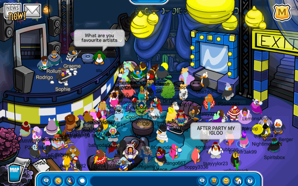 club penguin x soccer mommy q a