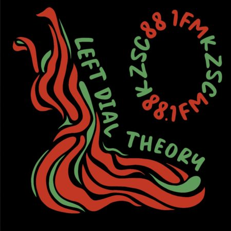 Left Dial Theory Sticker